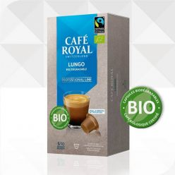 16 Capsules BIODEGRADABLES Café Royal Pro Espresso Bio Organique