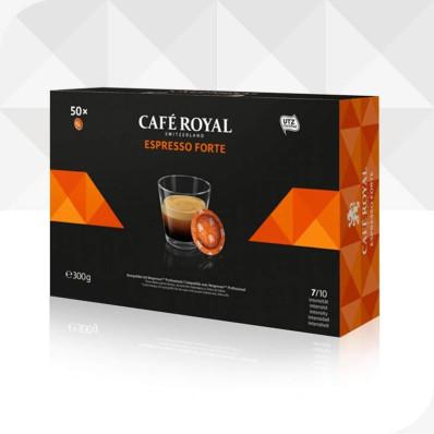 50 Capsules ESPRESSO FORTE compatibles Nespresso®* Professionnel