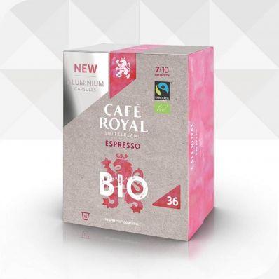 36 Capsules ESPRESSO BIO compatibles Nespresso®* à usage domestique (aluminium)