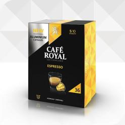 36 Capsules ESPRESSO compatibles Nespresso®* à usage domestique (aluminium)