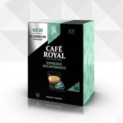 36 Capsules DECA compatibles Nespresso®* à usage domestique (aluminium)