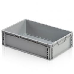 965721 - Euro container closed handles 60x40x17 cm