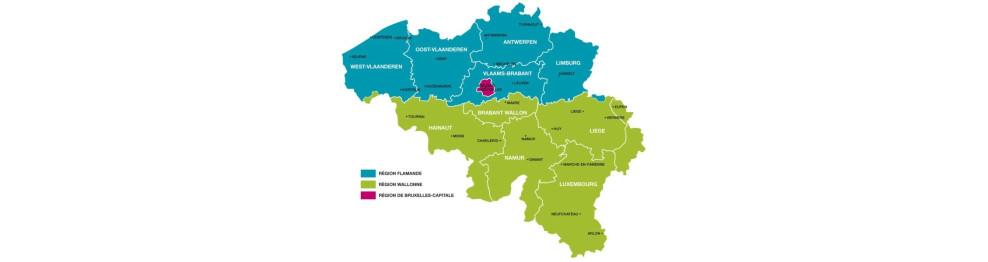 Belgium: provinces and communities