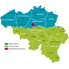Belgique : provinces, communautés et régions
