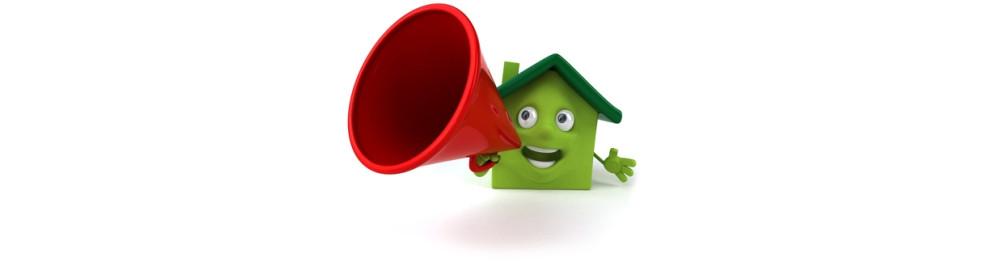 Immobilier (panneau, promotion, chantier)