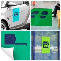 Adhésif - Autocollant - Sticker