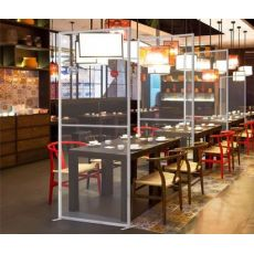 Restaurant protection plexiglass