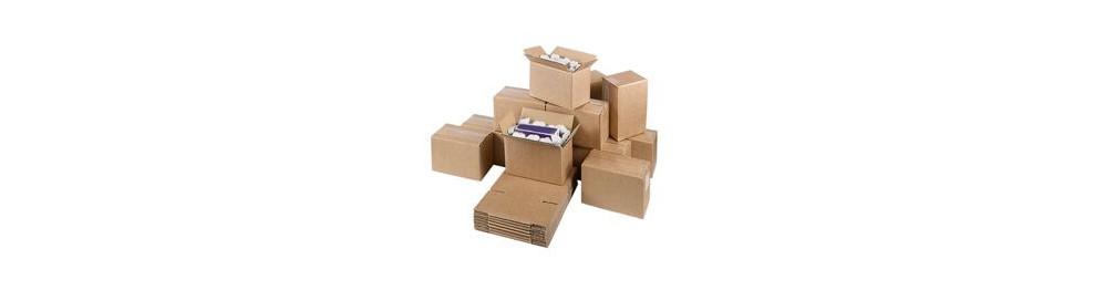 Caisse carton double cannelure