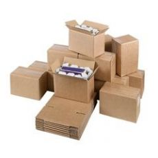 Double corrugated cardboard box