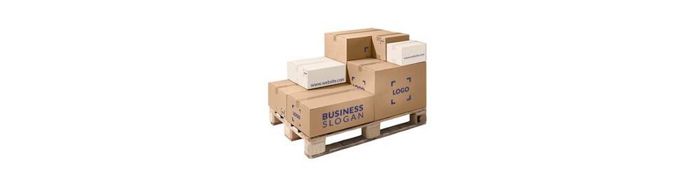 Custom printed cardboard box