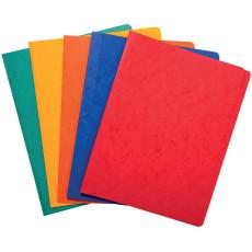 Cardboard elastic folders