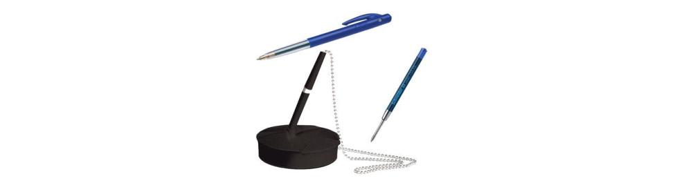 Ballpoint pens and refills