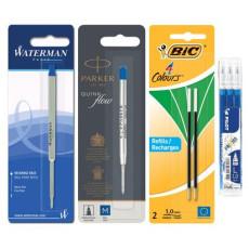 Recharges pour stylos bille