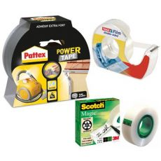 Adhesive tapes and unwinders