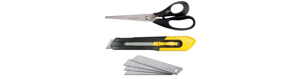 Ciseaux et cutters