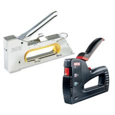 Pneumatic staplers