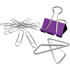 Paper clips, thumbtacks, etc.