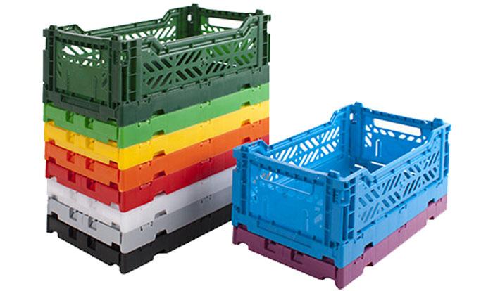 Les différents types de bacs en plastique