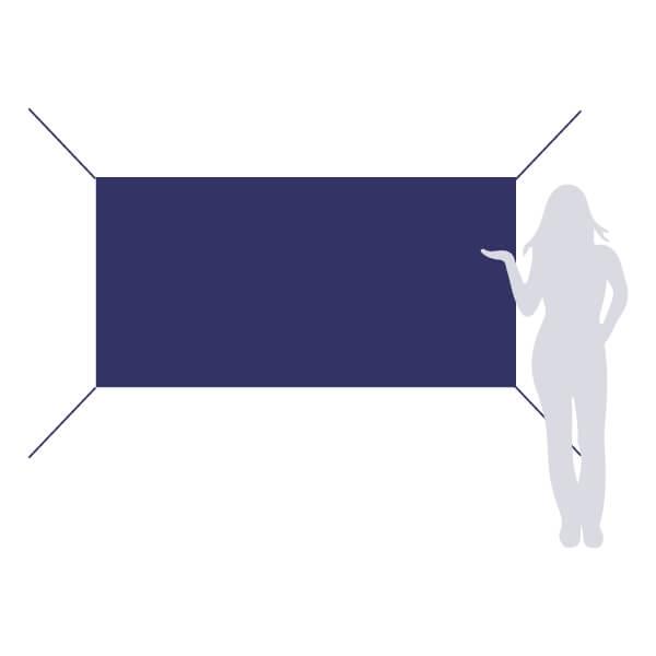 banderole à accrocher 200x100cm