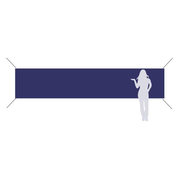 banderole à accrocher 500x100cm