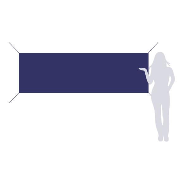 banderole à accrocher 250x80cm