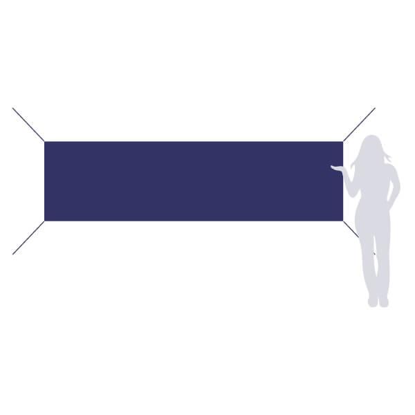 banderole à accrocher 300x80cm